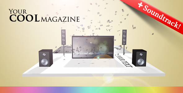 After Effects Project - VideoHive Your COOL Magazine 119673