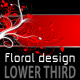 Floral Design LOWER THIRD pack - VideoHive Item for Sale