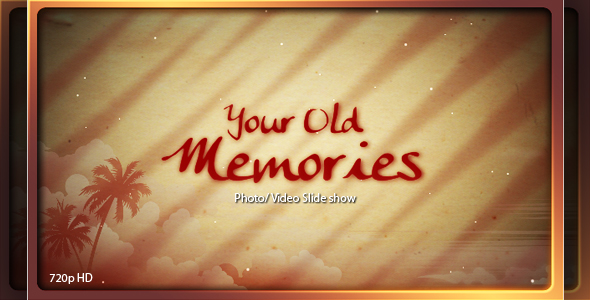 After Effects Project - VideoHive Old is Gold photo video slide show 119725