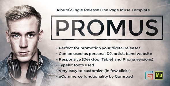 Promus music album release dj band musician for Band press release template