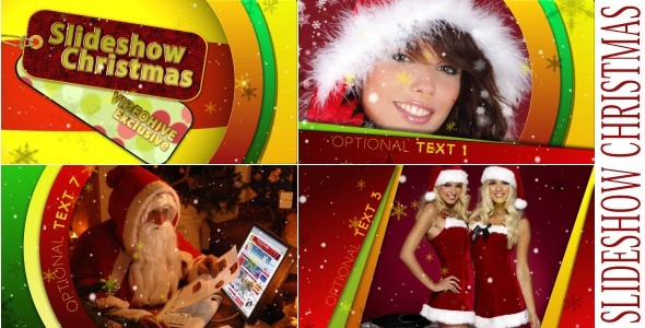 After Effects Project - VideoHive Slideshow Christmas 954834