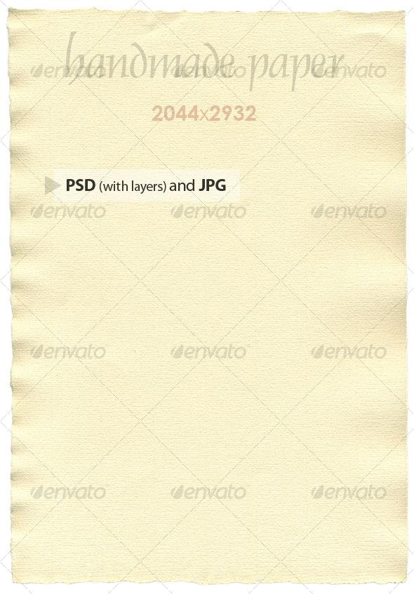GraphicRiver Handmade Paper 39325