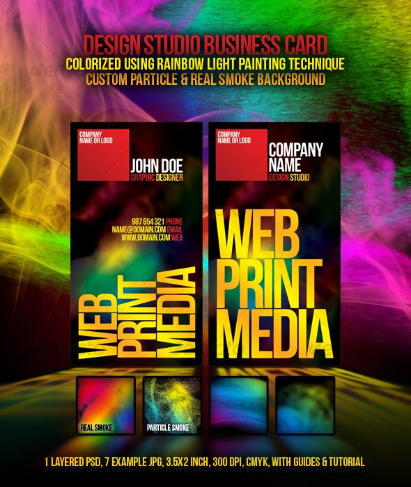 GraphicRiver Design studio Business Card 120464