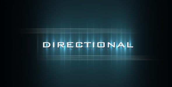 After Effects Project - VideoHive Directional 120486