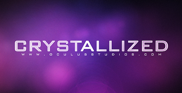 After Effects Project - VideoHive  Crystallized CS4 Logo Reveal 120696