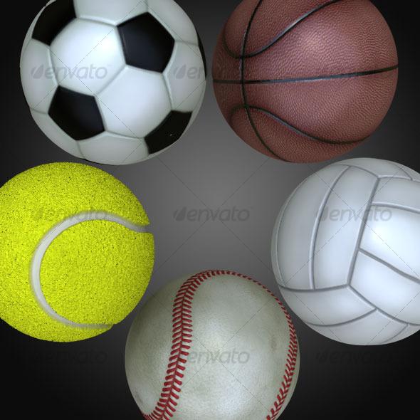 3DOcean Balls 120895