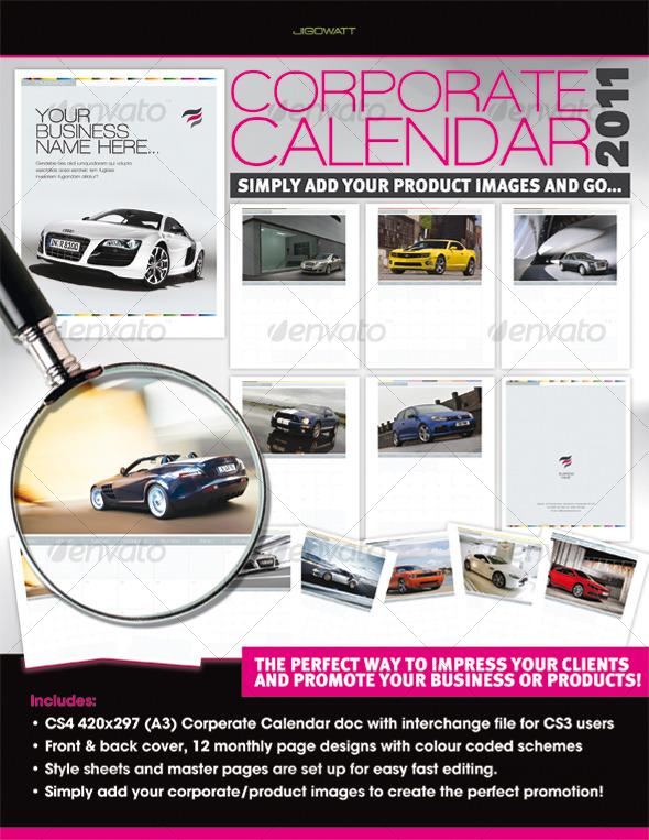 GraphicRiver Corporate Calendar 2011 120897