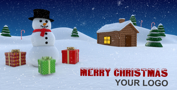 After Effects Project - VideoHive Christmas Intro 961912