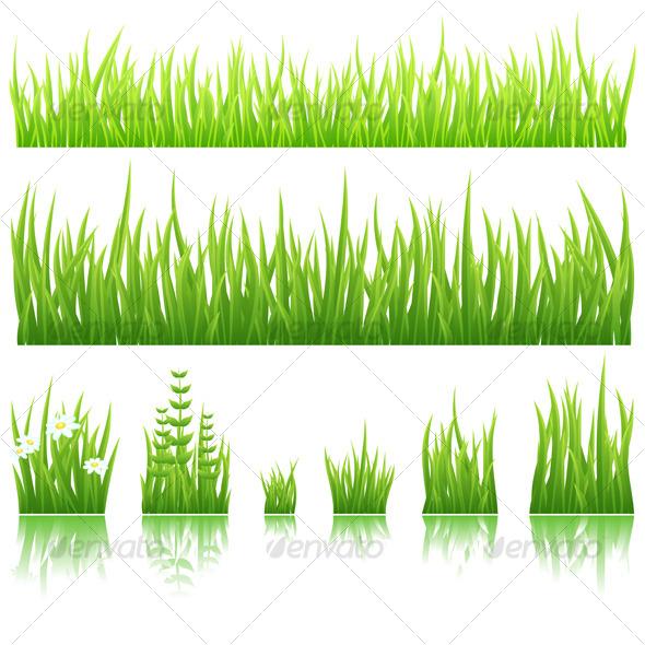 GraphicRiver Green grass 121094