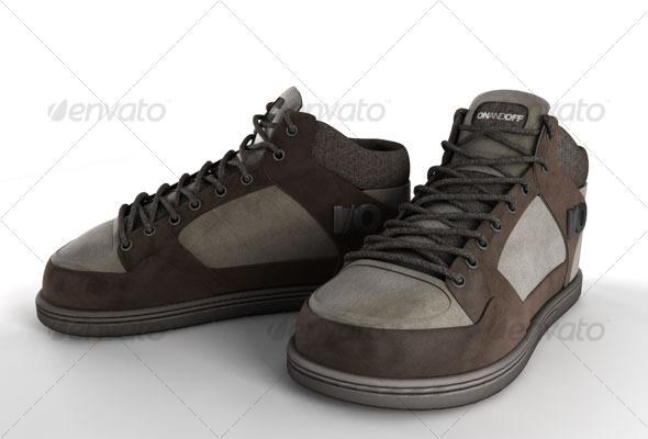 3DOcean Shoes 121420
