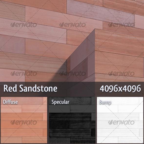 3DOcean Red Sandstone 121064