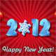 New Year's Greeting Card 2012 - ActiveDen Item for Sale