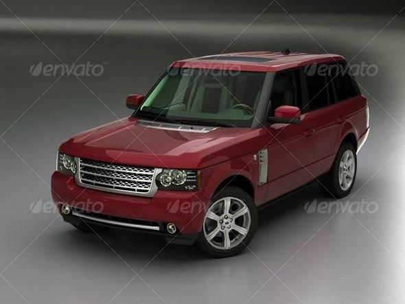 3DOcean Range Rover 2010 118673