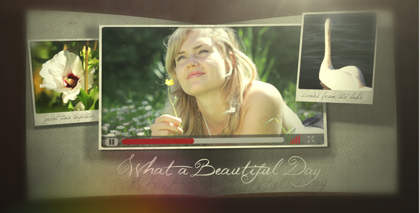After Effects Project - VideoHive Photo Pop Out Book 971755