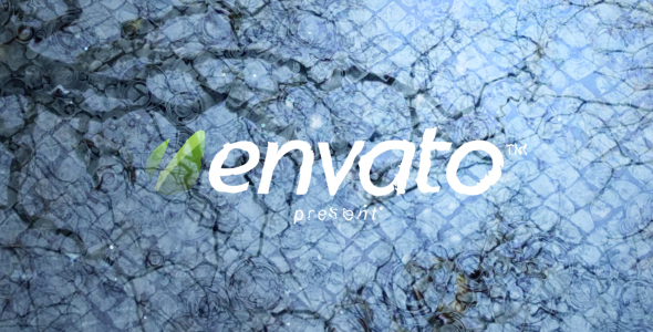 After Effects Project - VideoHive Rain Drops 122101