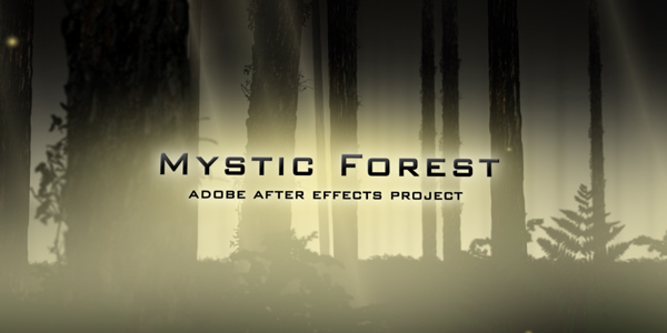 After Effects Project - VideoHive Mystic Forest 122215