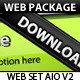 Web Set AIO v2 (Premium Web Package) - GraphicRiver Item for Sale