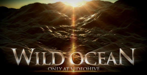 After Effects Project - VideoHive Wild Ocean 122467