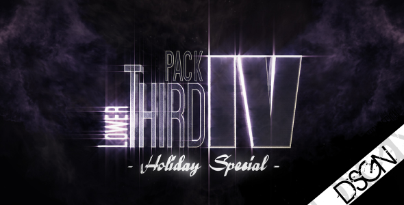 After Effects Project - VideoHive Lower Third Pack Vol.4 HOLIDAY SPECIAL Fu ...