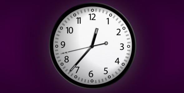 After Effects Project - VideoHive Clock Watch 75249