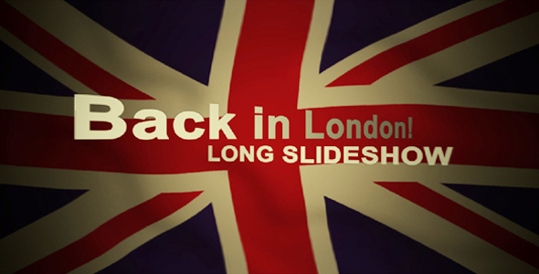 After Effects Project - VideoHive Back in London 122830
