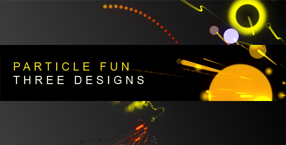 After Effects Project - VideoHive Particle Fun Three designs 121773