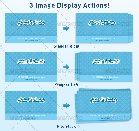 GraphicRiver Image Stack Display Actions 40421