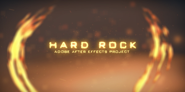 After Effects Project - VideoHive Hard Rock 123559