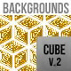 Cube Golden Backgrounds - GraphicRiver Item for Sale