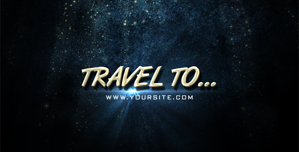 After Effects Project - VideoHive Travel to.. 123662