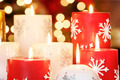 Christmas candles - PhotoDune Item for Sale