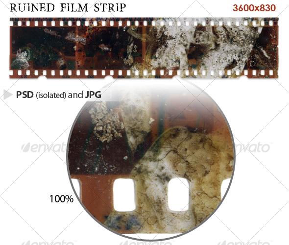 GraphicRiver Ruined Film Strip 40724