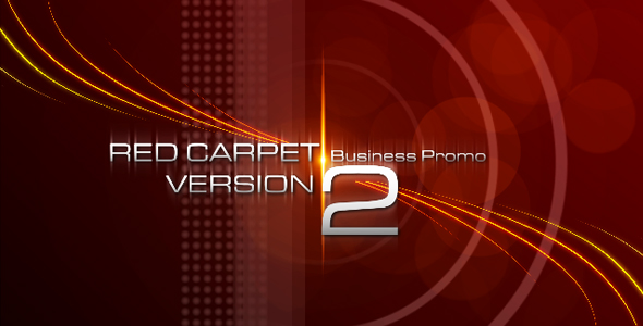 After Effects Project - VideoHive RED CARPET VERSION 2 Business Promo 12380 ...