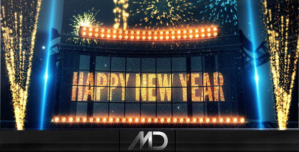 After Effects Project - VideoHive New Year Countdown 986522