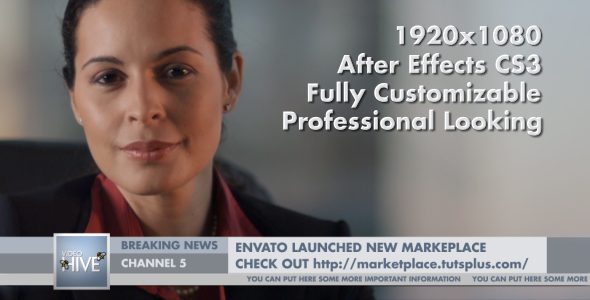 After Effects Project - VideoHive Corporate Lower Third 124655