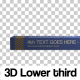 3D Box Lower Third - VideoHive Item for Sale