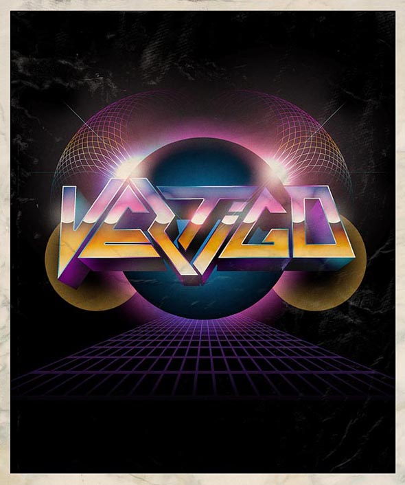 TutsPlus How to Create a Retro Metal 3D Design 125562