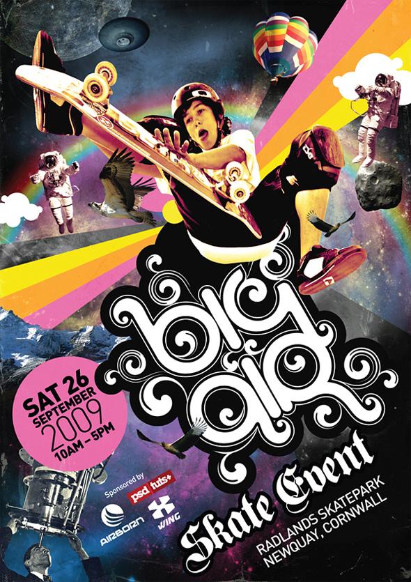 TutsPlus Create a Big Air Event Poster 125608