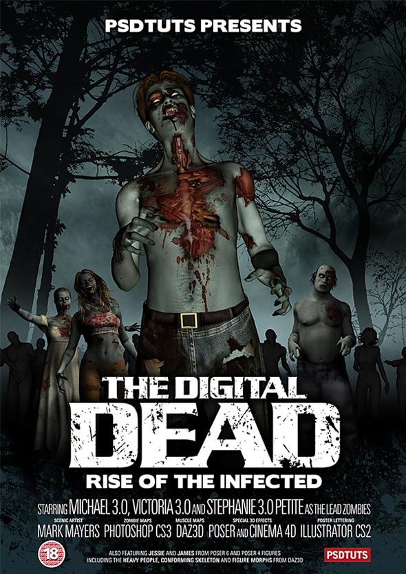 TutsPlus How to Create a Horrific Zombie Poster 125800
