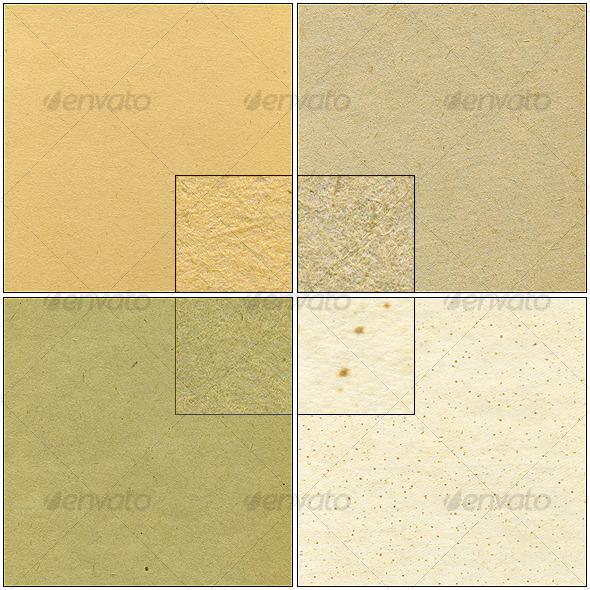 GraphicRiver 4 paper textures 126051