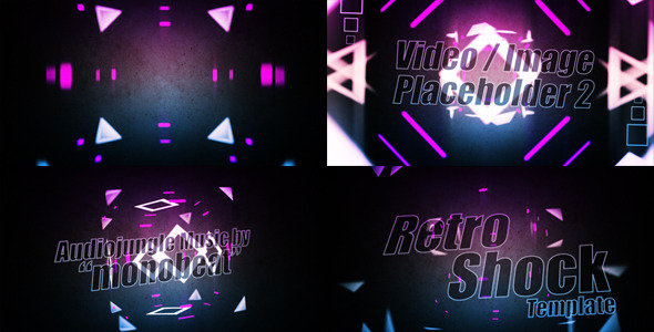 After Effects Project - VideoHive Retro Shock Template v1.0 1004179