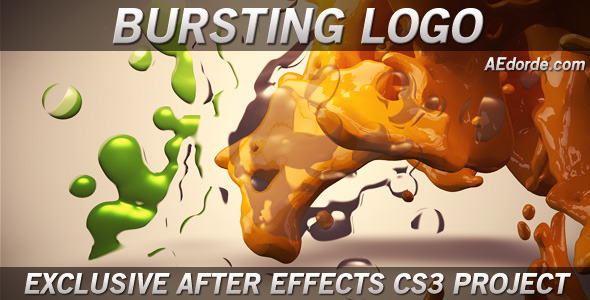 After Effects Project - VideoHive Bursting Logo 1005887
