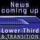 News coming up - lower third & transition pack - VideoHive Item for Sale
