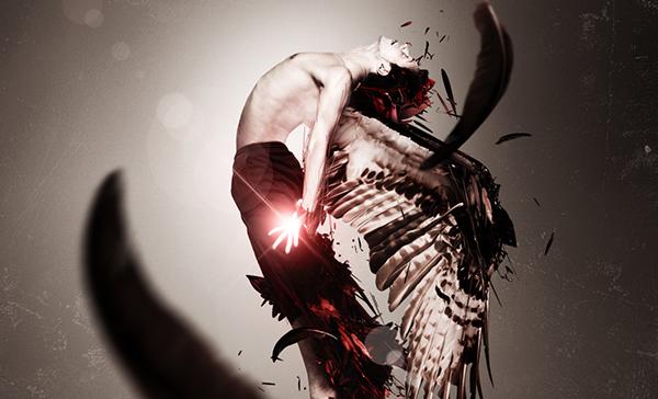 TutsPlus Create a Dynamic Scene with a Fallen Angel Theme 126679