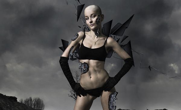 TutsPlus How to Make a Futuristic Abstract Cybernetic Woman 126682