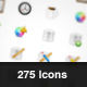 Function App Icons 275 (With Free Bonus) - GraphicRiver Item for Sale