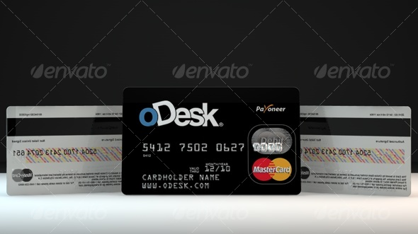 3DOcean Credit Debit master Card 126829