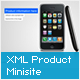 AS3 XML Product Showcase Minisite - ActiveDen Item for Sale