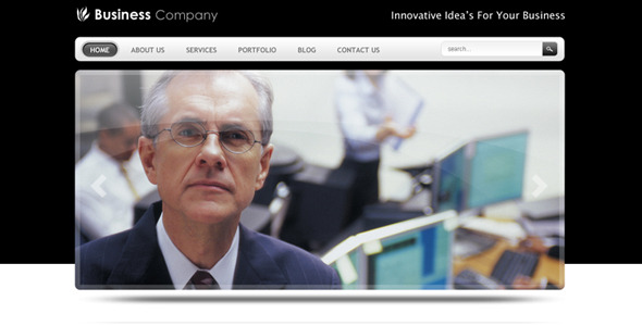 ThemeForest Smart Business Company Drupal 6 Theme 127140