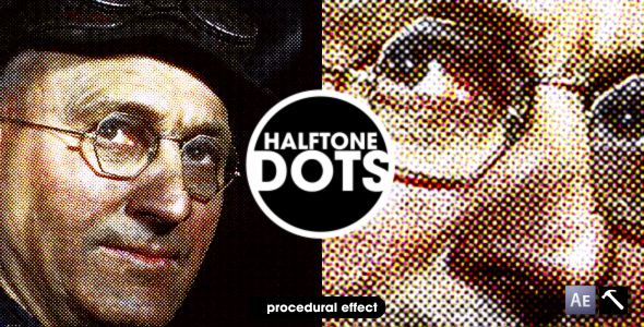 After Effects Project - VideoHive Halftone Dots 127239